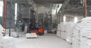 تولید و فروش پودر سنگ سفید کیسه 25 کیلوگرمی