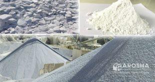 تصویری از کارخانه کربنات کلسیم لوله پلی کا